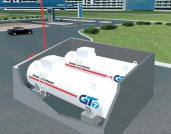Technological system «KPM GT PO ob» 2x10, NSV 32 (GT7 production), connected to Fuel Dispenser