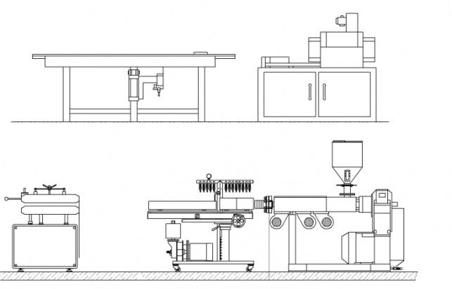Profile production line LPP