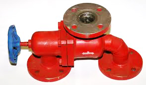 Three-way valve 40 Pilzno ZTPk DN40, PN2.5