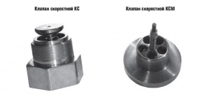 High-speed valve KS, KSM