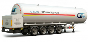 LNG transportation by road