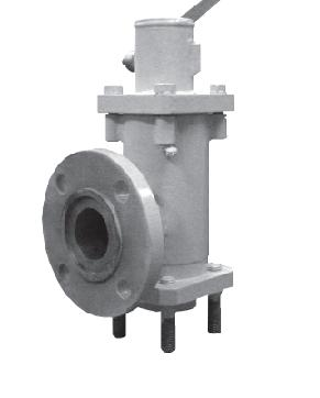 Safety valve with manual undermine KPRp-25