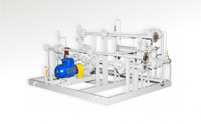 NGZS pumping unit with NSVG pump