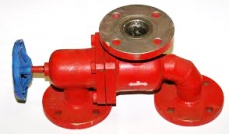 Three-way valve 50 Pilzno ZTPk DN50, PN2.5
